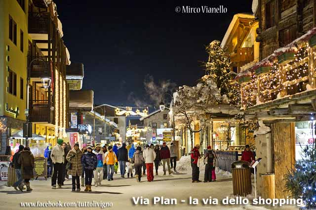 Livigno - Livigno - Via Plan - Via dello shopping
